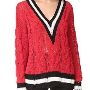 Rag & Bone Emma Varsity Sweater sz M